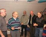 Niels Bækdal, Kai Werner Hansen, Ejvind Madsen, Poul Erik Larsen, Flemming Rose, Ole Vinther, Kristian Kristensen, Bo Ravn, Gunner Simonsen